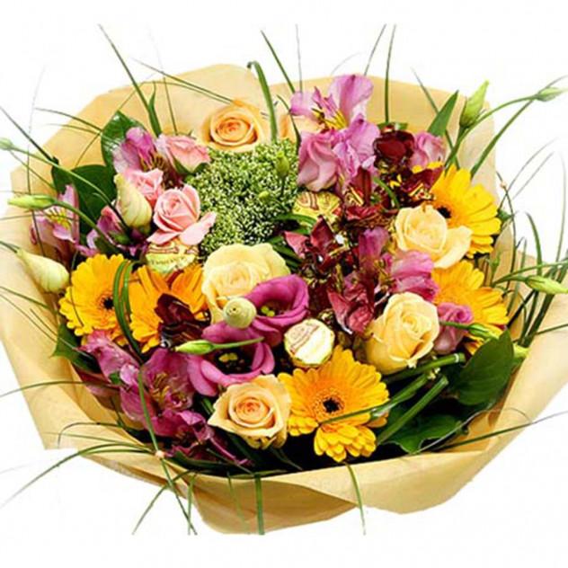 Букет из цветов  № 19